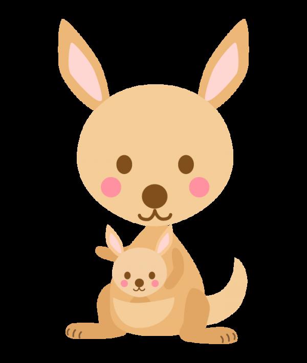animal_kangaroo_oyako_4612